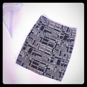 Apostrophe stretch pencil skirt 🌿